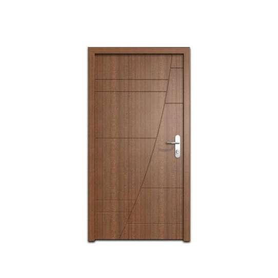 China WDMA 30 X 79 36 X 80 48 Inches European Exterior Fire Rated MDF Board HDF Wood Walnut Veneer Door