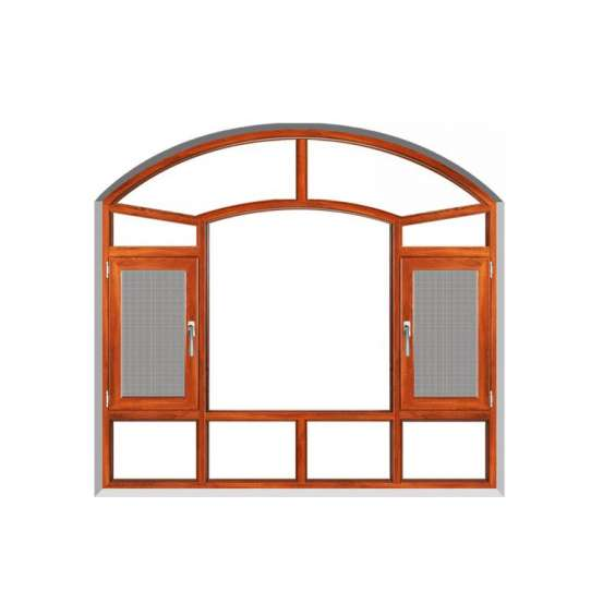 China WDMA glass veranda aluminium casement window 36 x 48 casement window