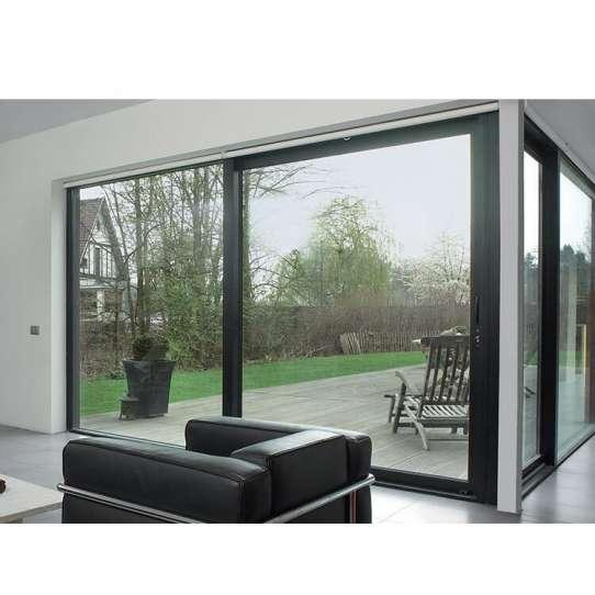 WDMA 6*2.4m door Aluminum Sliding Doors