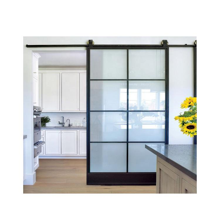 Chrimson 8 Ft Aluminium Hanging Barn, Living Room Sliding Doors Interior