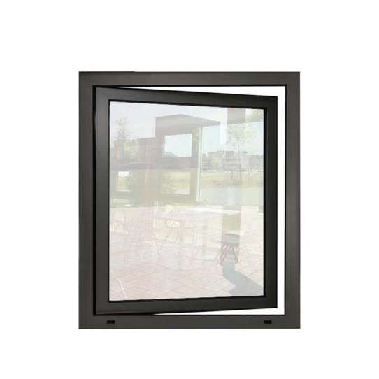 China WDMA Affordable Tempered Smart Glass Aluminum Frame Casment Windows