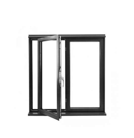 China WDMA 36 x 72 casement window Aluminum Casement Window