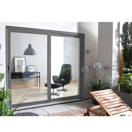 WDMA Aluminium Alloy Anti Theft Luxury Energy Rating Sliding Door For Container House