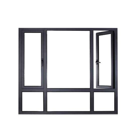 China WDMA Aluminium Casement Window For Villa