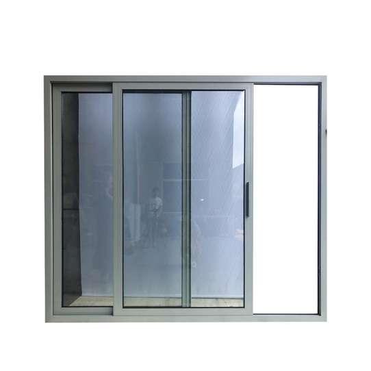 China WDMA Aluminium Commercial As2047 And As2208 Heavy Duty Glass Sliding Door