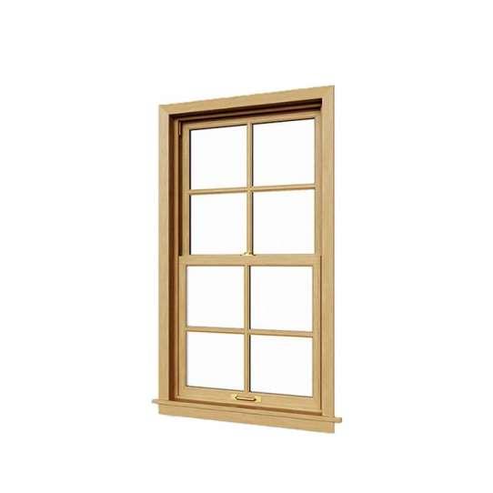 WDMA Aluminium Double Hung Window Vertical Sliding American Style Windows On Sales
