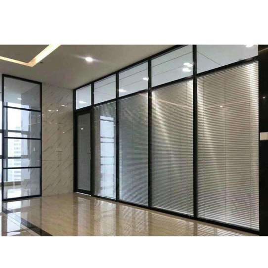 China WDMA office wall partition Aluminum office partition