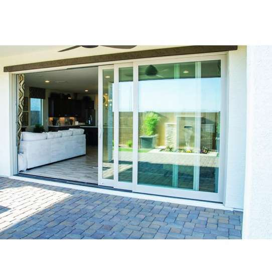 WDMA automatic sliding door system Aluminum Sliding Doors