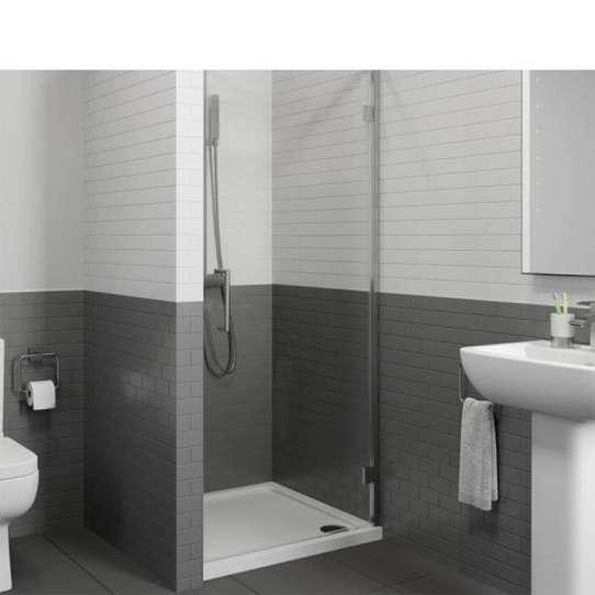 WDMA aluminium profile shower door
