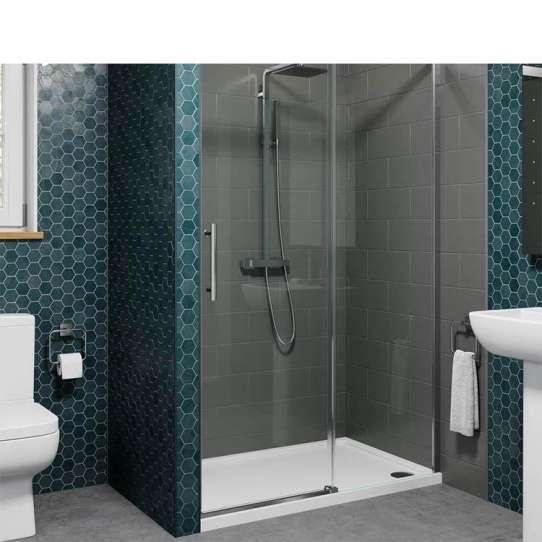 China WDMA aluminium profile shower door