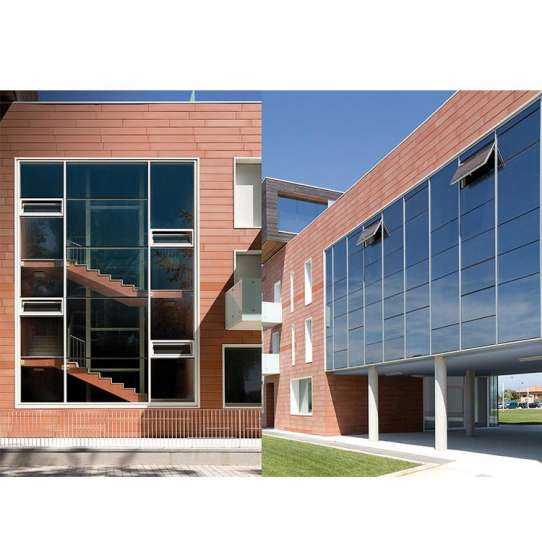 China WDMA Aluminium Reflection Insulated Glazed Tempered Glass Facade Curtain Wall System Price Cost Per Square Metre