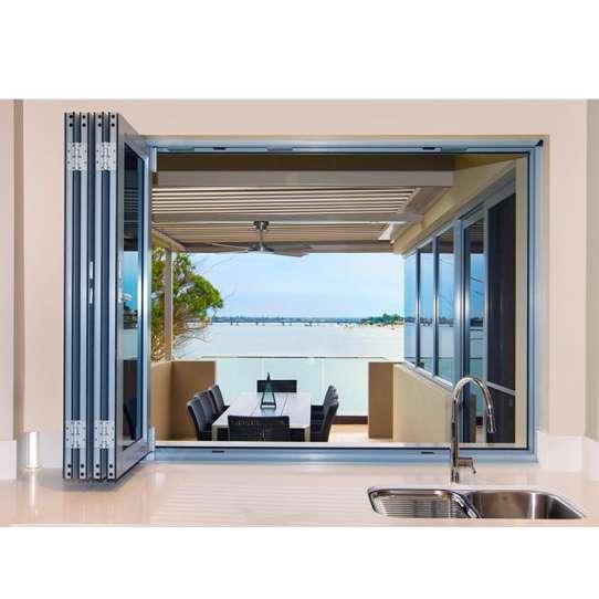China WDMA aluminium balcony window