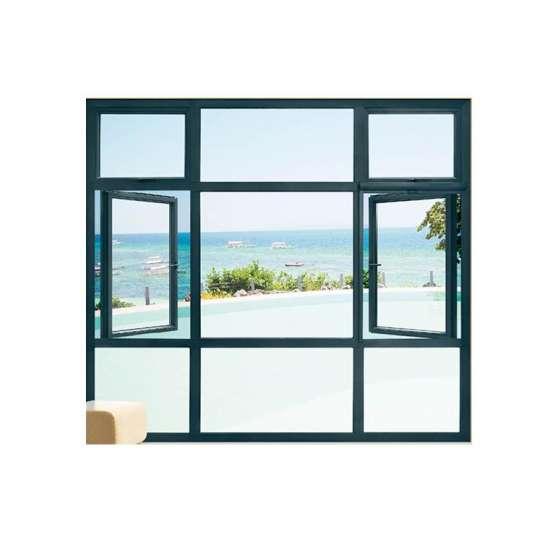 China WDMA casement inward opening casement window Aluminum Casement Window