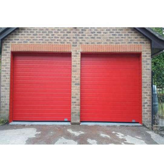China WDMA plexiglass garage doors Garage Door Roller Shutter Door