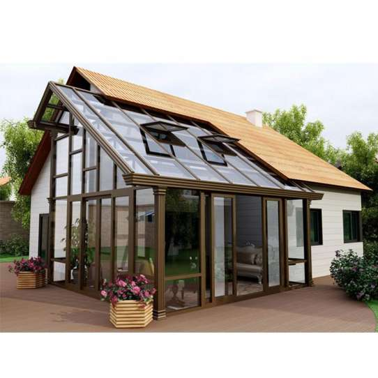 China WDMA Aluminum Conservatory With Blinds Prices