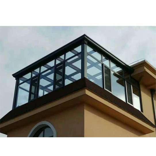 China WDMA flat roof sunroom glass sunroom Aluminum Sunroom