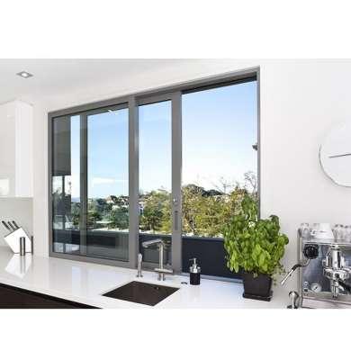WDMA Aluminum Framed Double Glazed sliding Window Grill Design