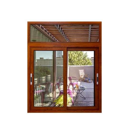 China WDMA sliding window grill design Aluminum Sliding Window