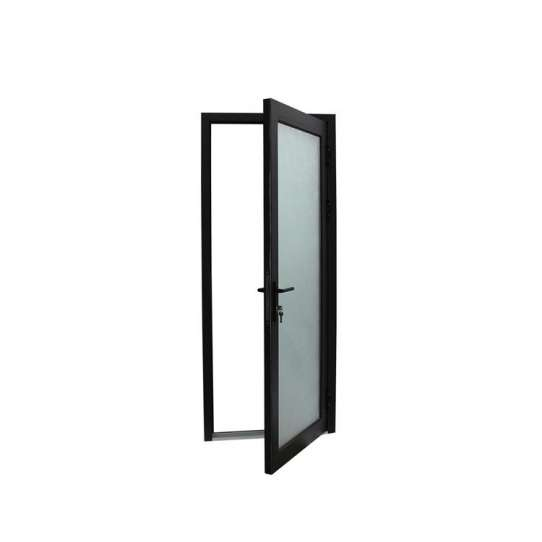 China WDMA Aluminum Profile hinged door Aluminum Hinged Doors