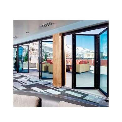 WDMA Aluminum Veranda Bifolding Sliding Door From China Factory