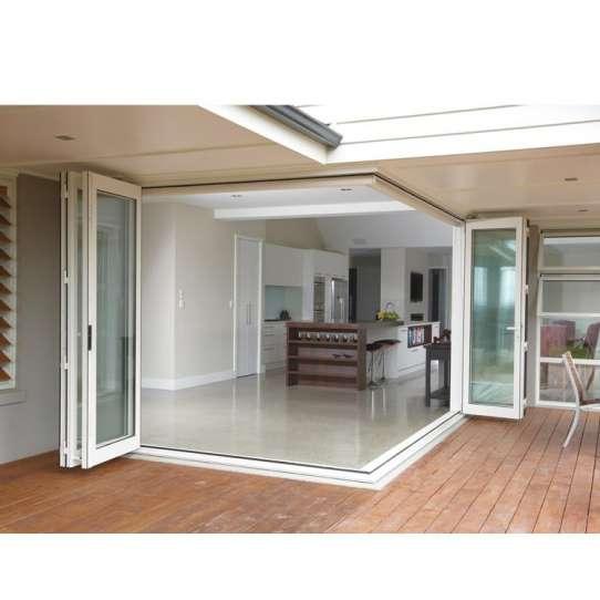 WDMA Corner Vertical Bi-folding Doors