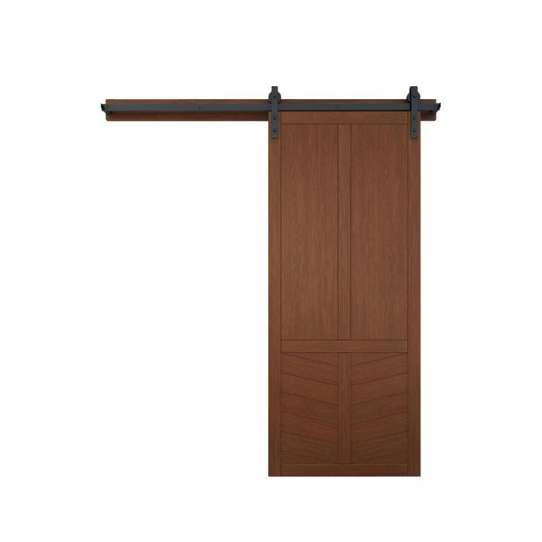 WDMA American Oak Wood Barn Door Design