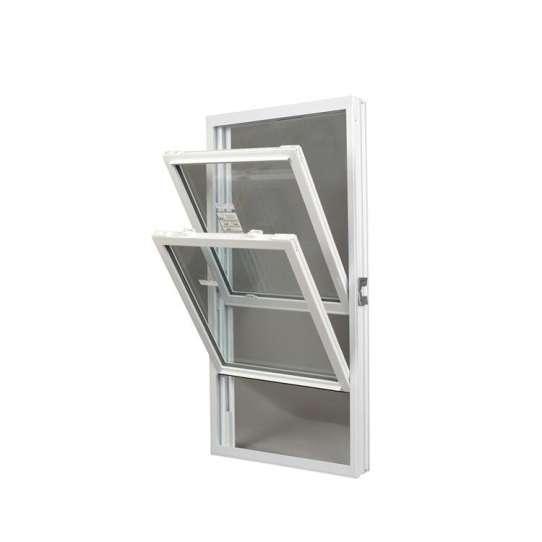 China WDMA aluminium vertical sliding window Aluminum double single hung Window