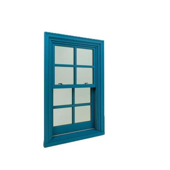 WDMA American Style Aluminum Wood Window Wood Clad Aluminum windows Single Hung Window