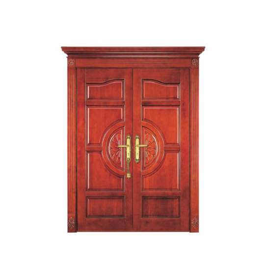 WDMA Antique American Double Leaf Teak Solid Wood Main Door Carving Design Models With Photos