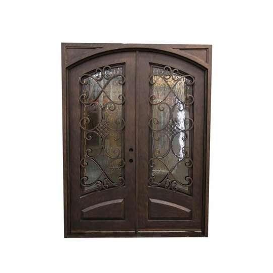 China WDMA iron door design catalogue Steel Door Wrought Iron Door