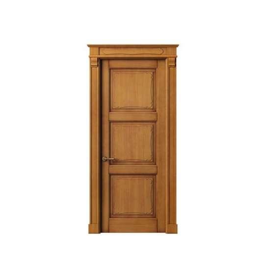 China WDMA Arabic Style Best Inside Wooden Modern Single Flash Indoor Kitchen Swing Door Design