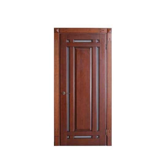 China WDMA wooden flash door Wooden doors