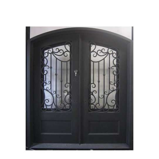 WDMA arched iron door