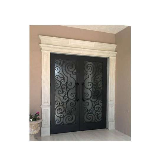 China WDMA arched iron door