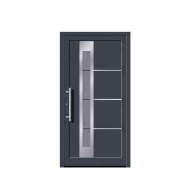 WDMA Au nz usa Standard Aluminum Hinged Door With Double Glass