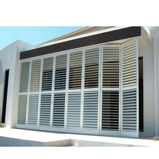 WDMA glass louvre window Aluminum louver Window