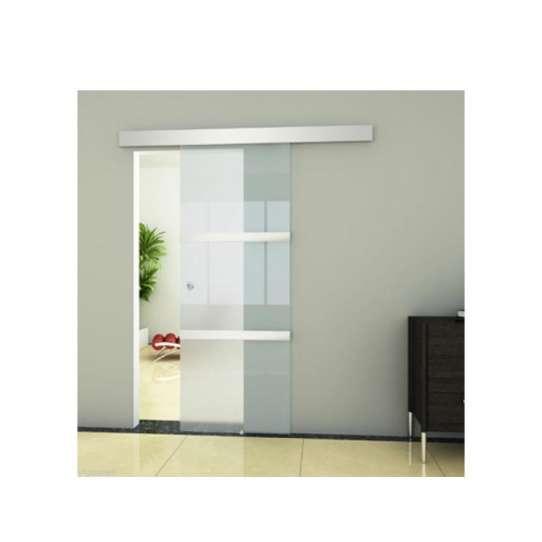 China WDMA Automatic Frameless Aluminium Sliding Patio Door System