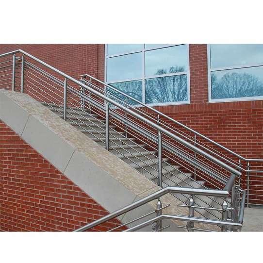 WDMA glass railing stainless steel Balustrades Handrails