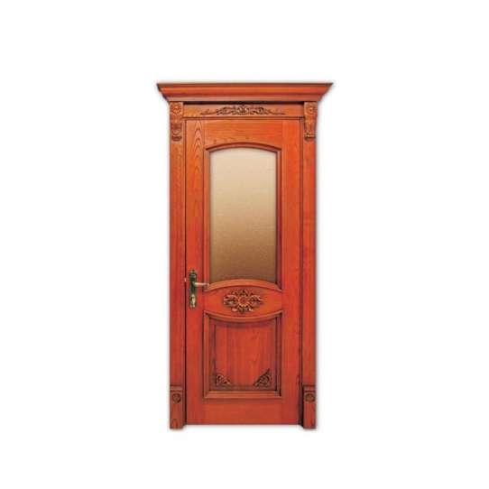 China WDMA Bedroom Wooden Panel Door Designs In Wood