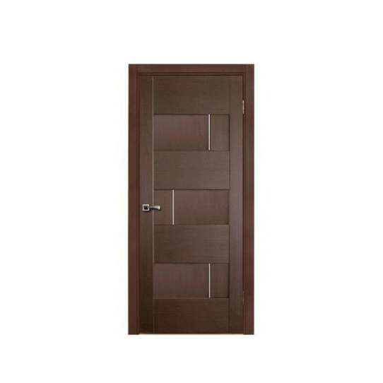 WDMA Big Plywood Moulding Veneer Laminated Double Fireproof Wood Room Door gate For Shop Home Rooms
