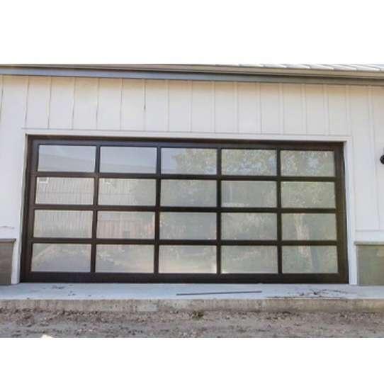 WDMA Mirriored Glass Garage Door