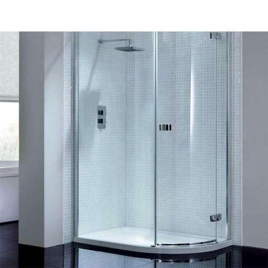 China WDMA curved glass shower door Shower door room cabin
