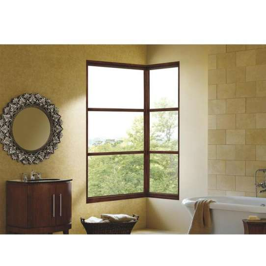 China WDMA l shaped window Aluminum Fixed Window