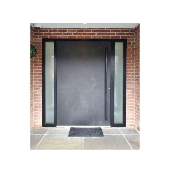 WDMA Metal Pivot Entrance Door