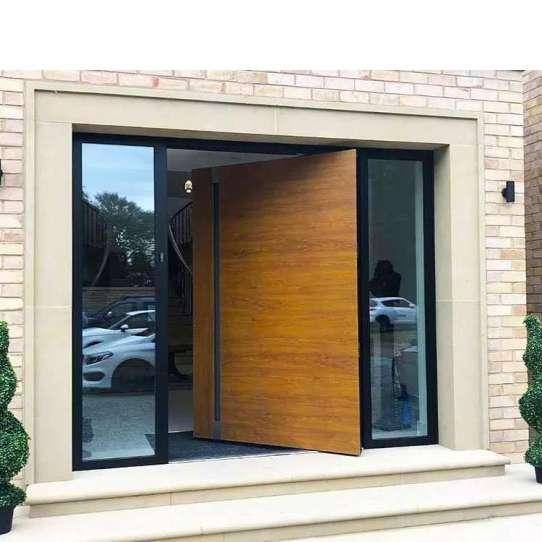 China WDMA Villa Enrance Pivot Door