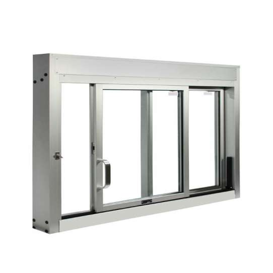 WDMA sliding glass reception window Aluminum Sliding Window