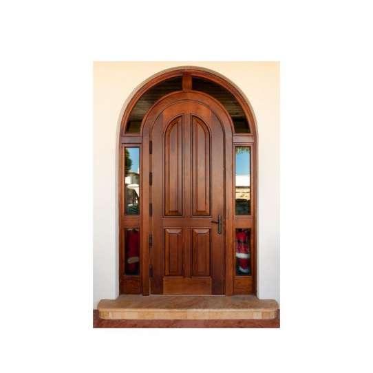 WDMA wood veneer main door design