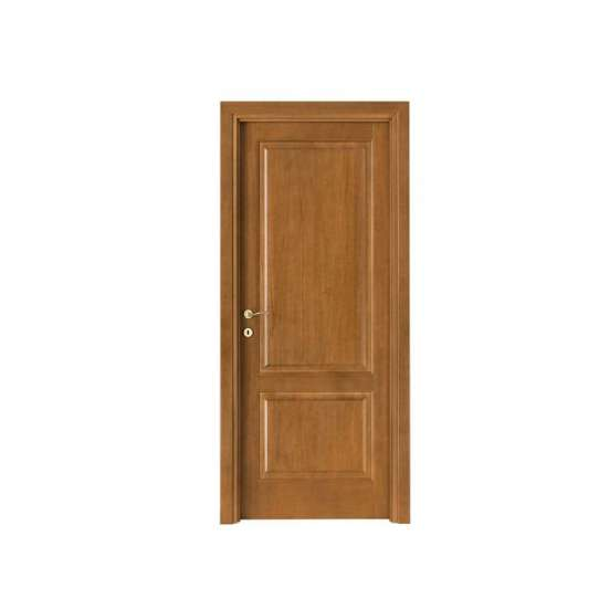 China WDMA wood veneer main door design Wooden doors