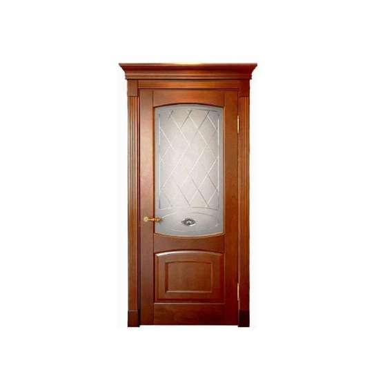 China WDMA Carved Design Of Main Door Wooden Doors In Egypt