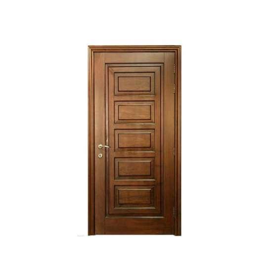 China WDMA exterior wooden doors Wooden doors